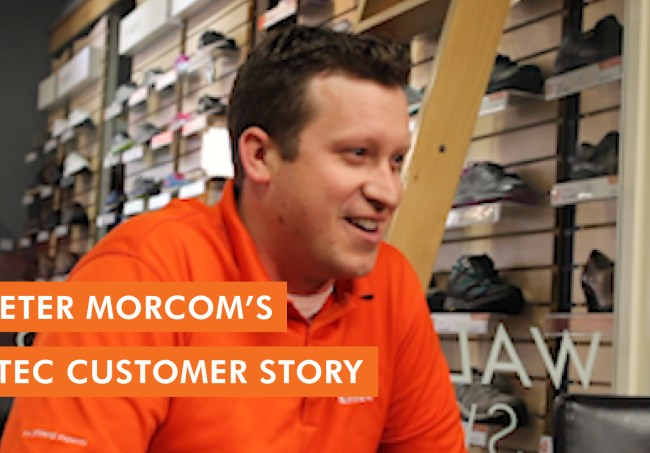 Peter Morcom's Kintec Customer Story