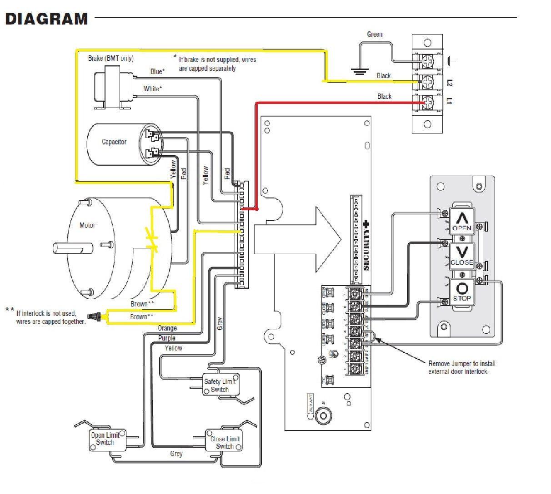 Chamberlain Liftmaster Wiring Schematic