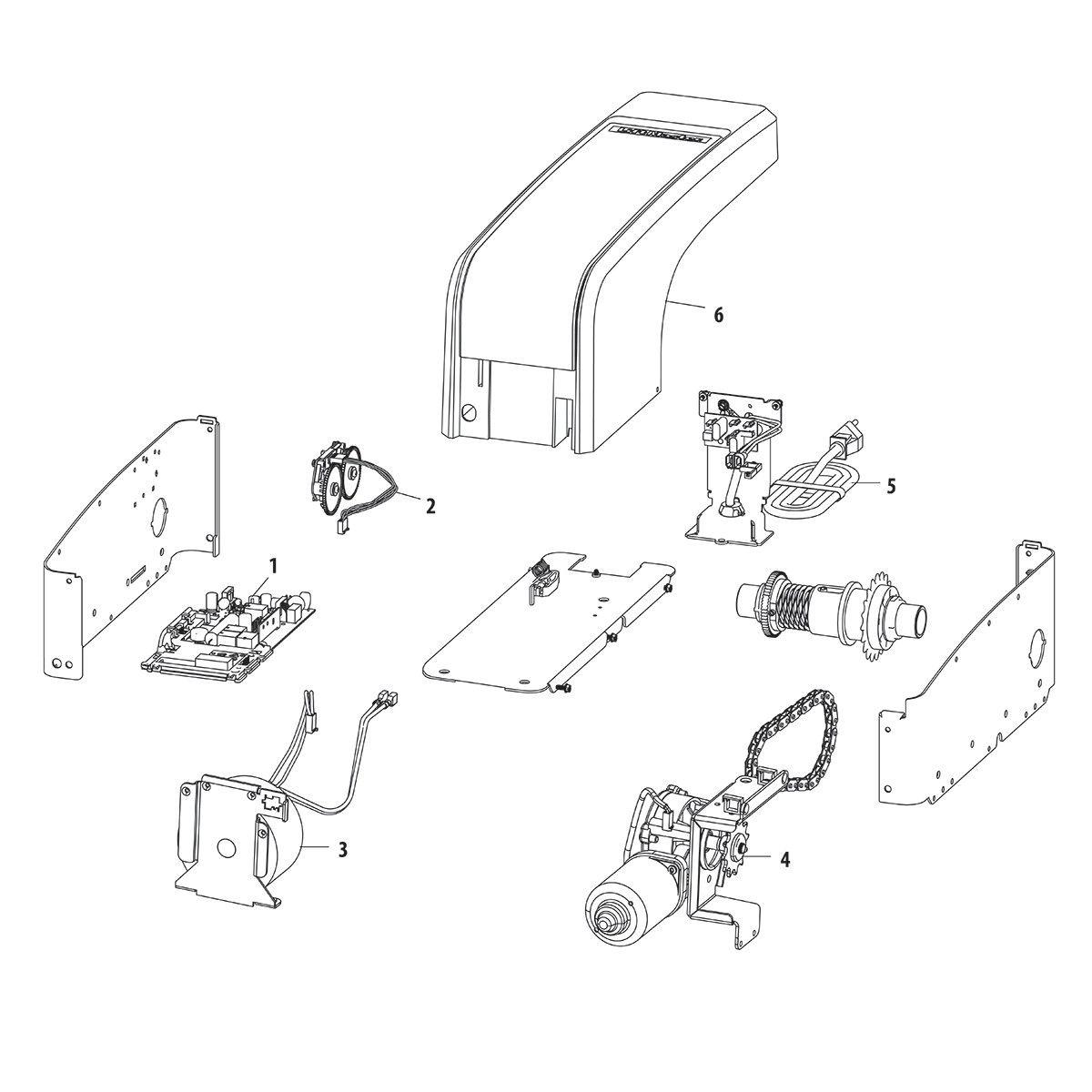 LiftMaster 8500W Wall Mount Garage Door Opener | LiftMaster