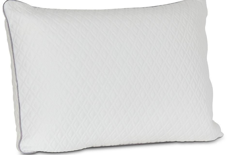 rest renew shredded memory foam side sleeper pillow
