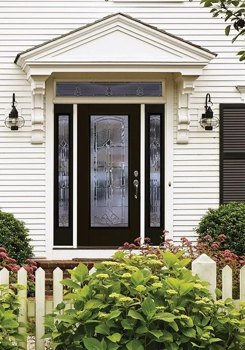 best front doors Masonite Belleville