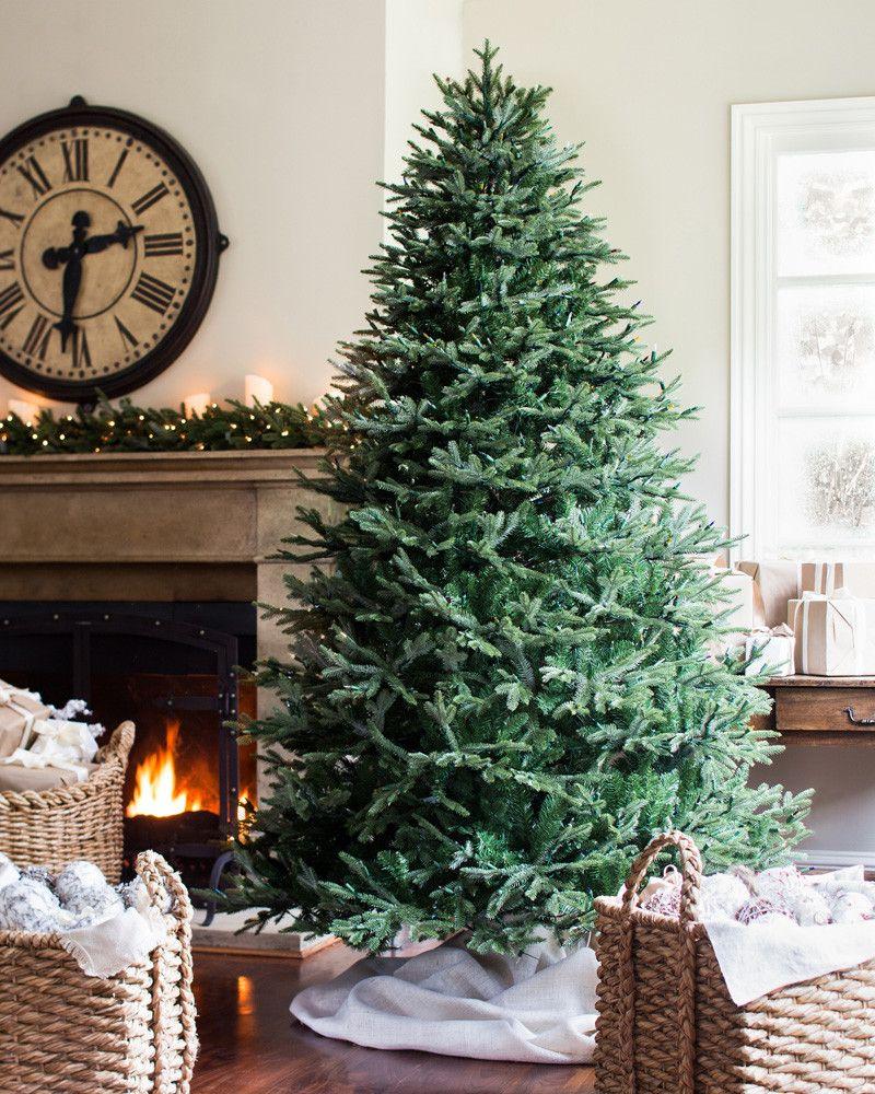 Full Width Fraser Fir Artificial Christmas Trees Balsam Hill