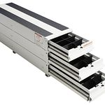 Model 327-3 ITEMIZER® Van Drawer Unit, Stacked, 49in x 12.25in x 17.75in