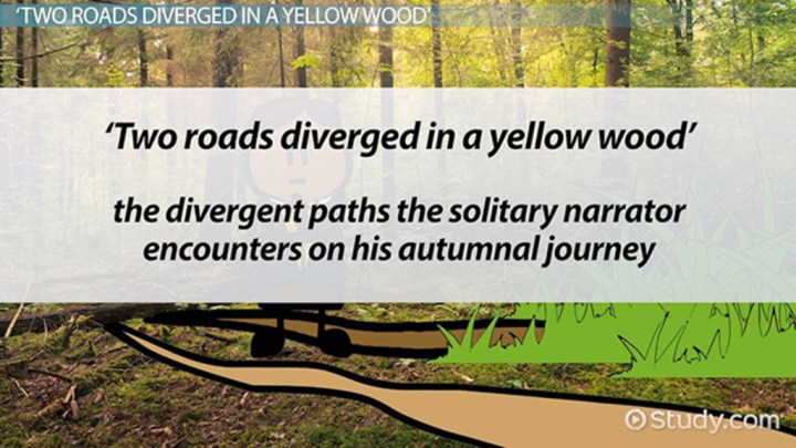 symbolism in robert frost s poem the road not taken co the road not taken symbolism analysis lesson