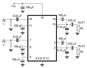 Tea2025 Subwoooferi Circuit Diagram  nerv