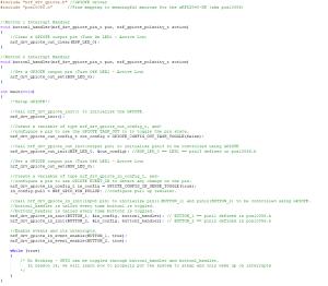 Bluetooth nRF5 GPIO Interrupt using GPIOPTE - nrf52832