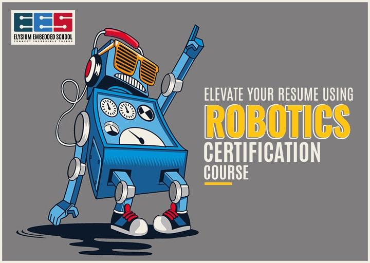 Robotics Certification Course
