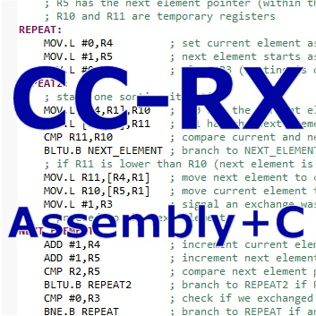 Mesclando C e Assembly no compilador CC-RX