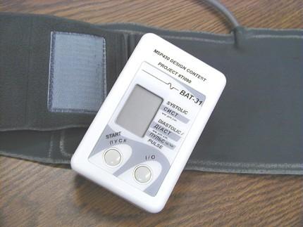 Automatic blood pressure meter