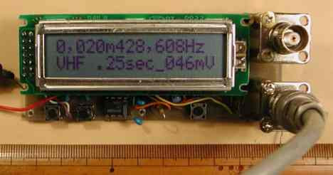 PIC16F84 Frequency Counter