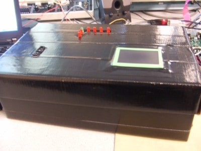 Touchpad with Infrared Music Synthesizer