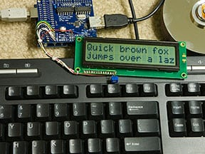 How to drive USB keyboard from Arduino