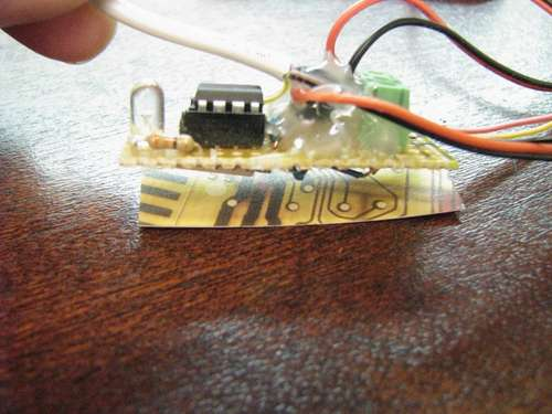 Simple PWM fan controller with temperature reading - Embedds