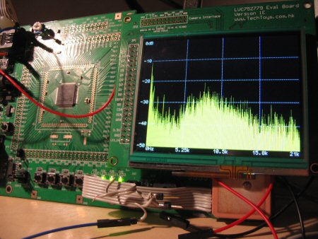 A Simple Audio Spectrum Analyzer in a PIC32 Proto Board - Embedds
