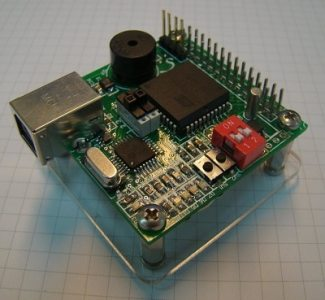 AT89C51RE2 based development board