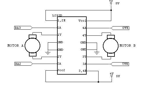 Interfacing DC motor to Atmega32 - Embedds