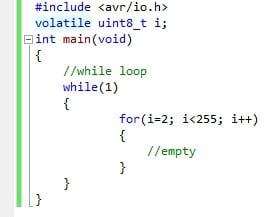 Using Volatile keyword in embedded code