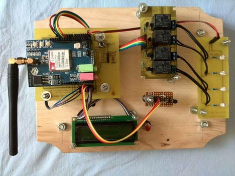 Home automation based on Arduino with GSM SIM900 module