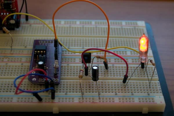 Simple Arduino experiments with nixie - Embedds