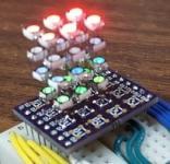RGB LED cube