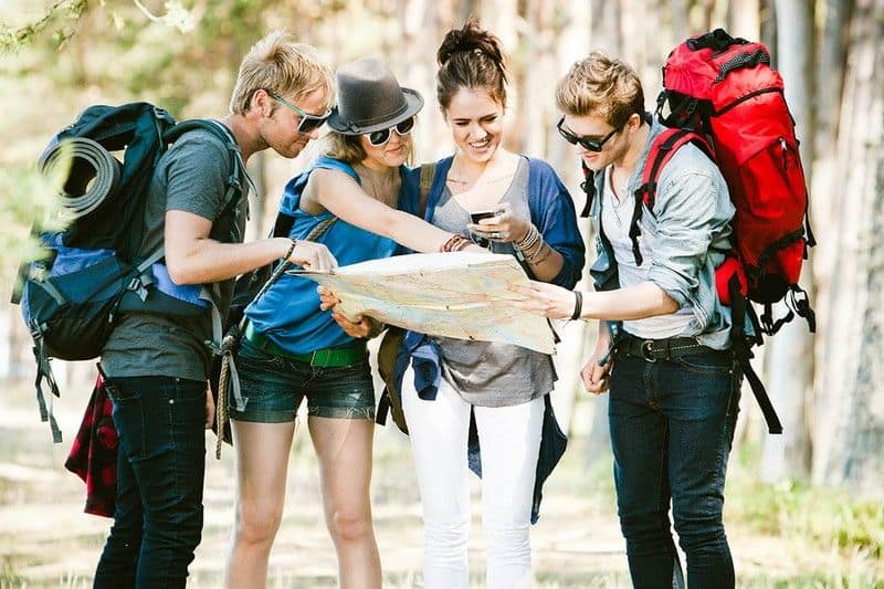 group traveling