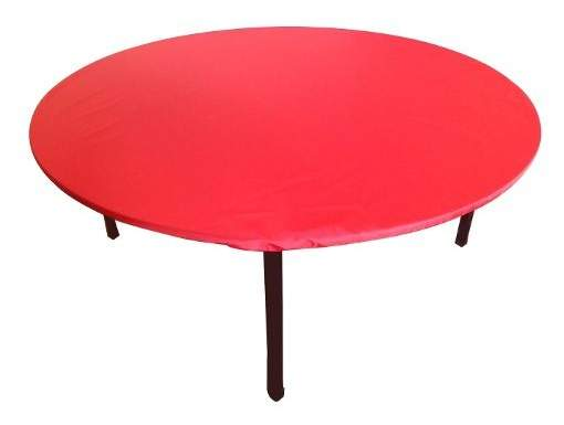 round fitted table