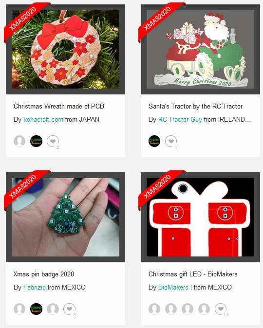 xmas2020 submitter projects