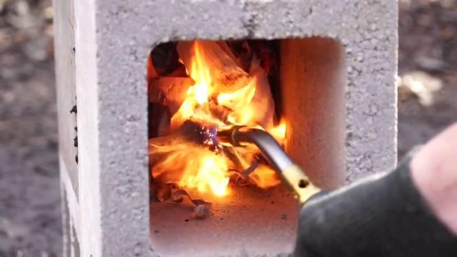 Antique Bernzomatic 2 Burner Propane Gas Cook Stove 1958 C Vine Tx 800