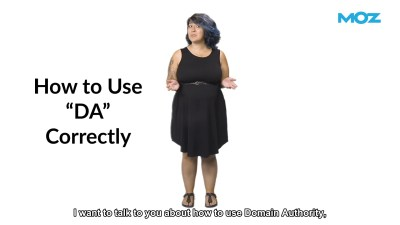"How to Use ""DA"" Correctly"