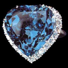 The Blue Heart Diamond