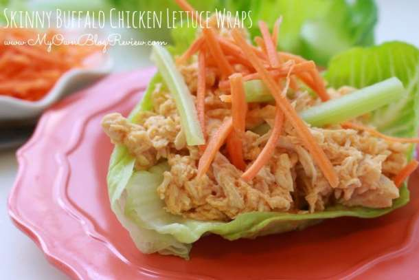 If you're wanting to start eating a little healthier you will want to definitely put these Skinny Buffalo Chicken Lettuce Wraps on your menu. You will love them. Skinny Buffalo Chicken Lettuce Wraps...