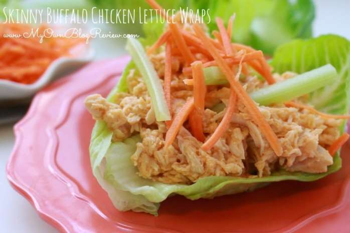 Skinny Buffalo Chicken Lettuce Wraps. Fast, easy, taste great and good for you! Who doesn't love tasty, and healthy? embellishmints.com