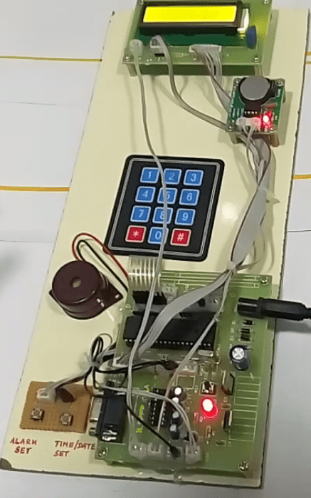 RTC Interfacing with 8051
