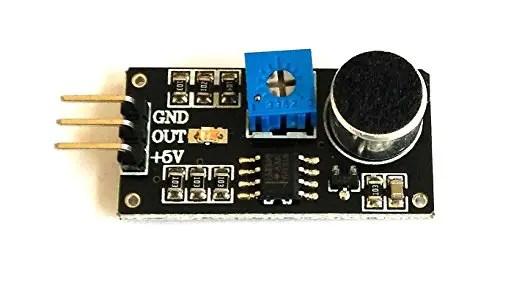 Sound Sensor Interfacing with PIC16F877A   EmbeTronicX
