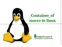 Understanding of container_of macro in Linux kernel