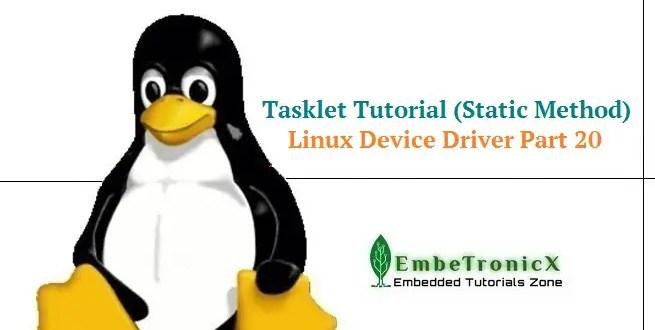 tasklet tutorial