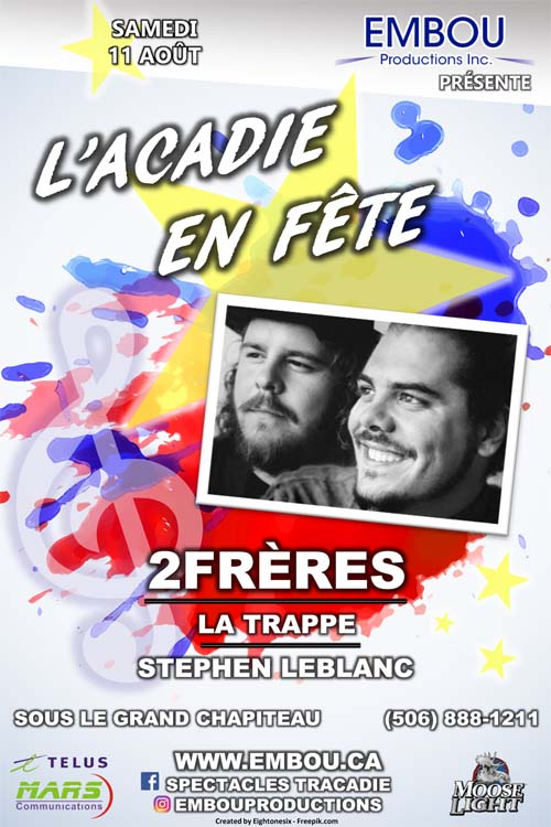 Celebration for the Fetes Des Acadians