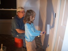 Painting with Grandpa