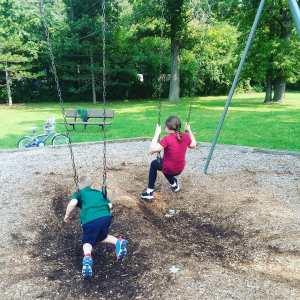 kids at play ground