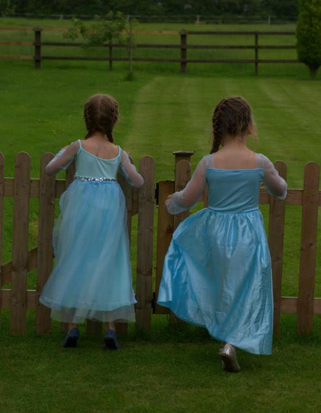 Princesses surveying the land