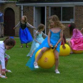 Space Hopper fun!