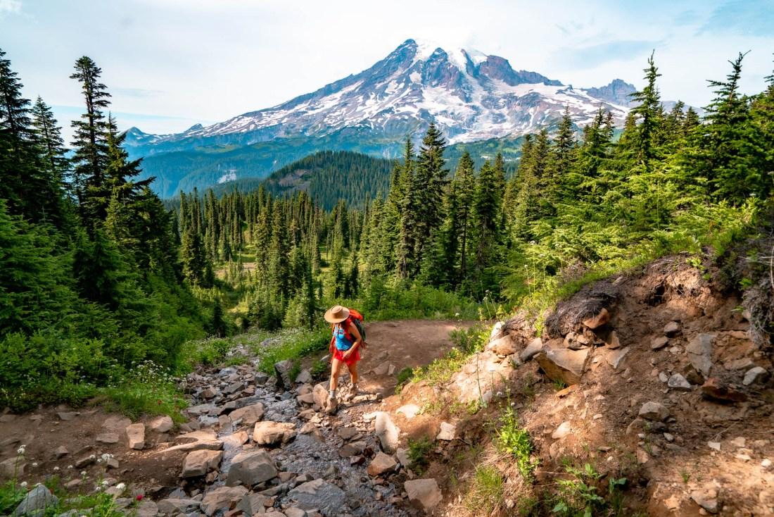 popular Mt. Rainier Hikes