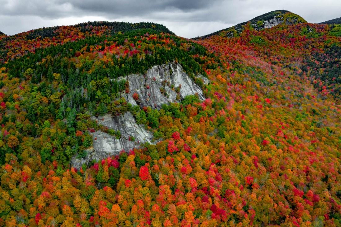 fall foliage white mountains new hampshire