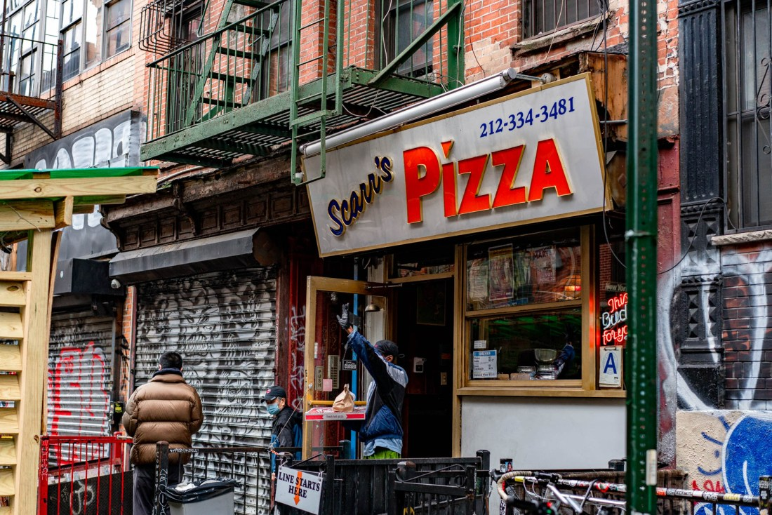 Scarr's Pizza NYC