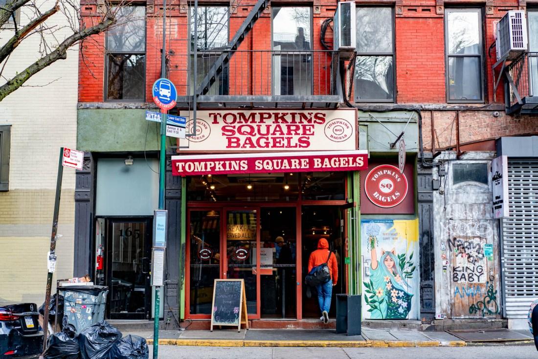 Tompkins Square Bagels NYC NYC best bagels