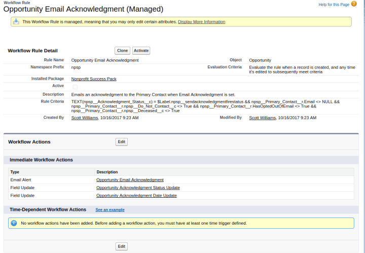 Revamping The NPSP Email Acknowledgement Workflow Rule To Allow For - Set up email template