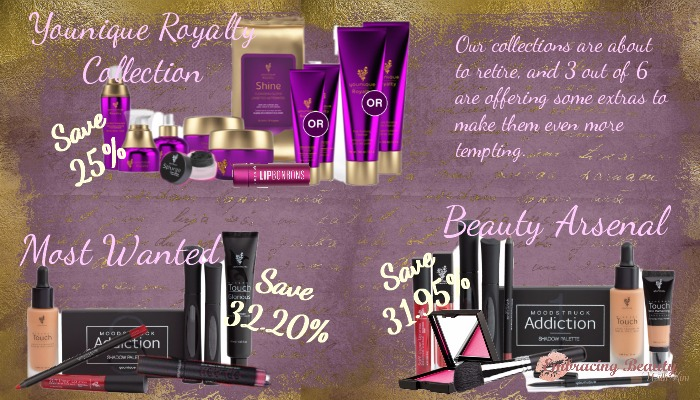 Younique's 2017 Retiring Collections – Bonuses