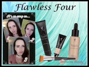April Kudos Flawless Four Younique Embracing Beauty with Kim Willis