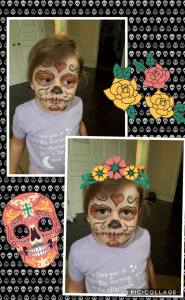 Younique's Halloween attempts looks Embracing Beauty with Kim Willis