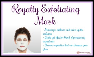 Royalty Mask Exfoliating Younique Embracing Beauty with Kim Willis